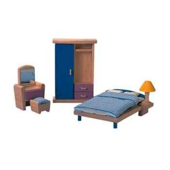 Chambre à coucher en bois - Plan Toys 7309
