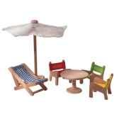 meubles de jardin en bois plan toys 7316