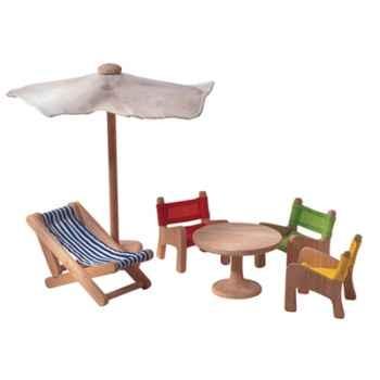 Meubles de jardin en bois - Plan Toys 7316