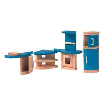 Cuisine décor moderne en bois - Plan Toys 7440