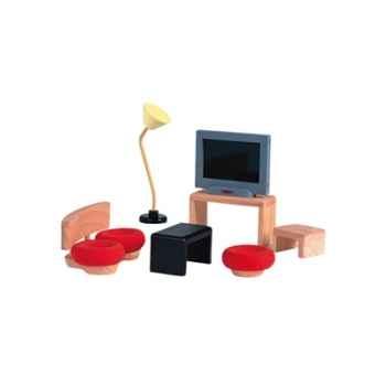 Salon décor moderne en bois - Plan Toys 7442