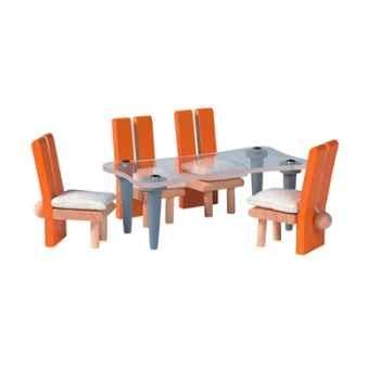 Salle à manger décor moderne en bois - Plan Toys 7443