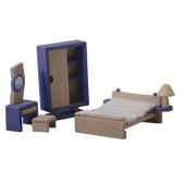 chambre decor moderne en bois plan toys 7444