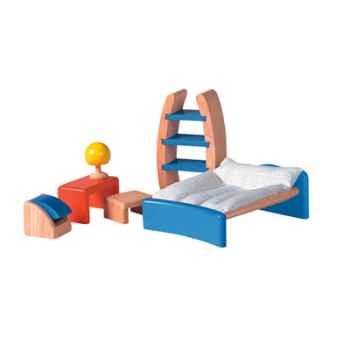 Chambre enfants moderne en bois - Plan Toys 7445