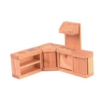 Meuble cuisine en bois - Plan Toys 9013