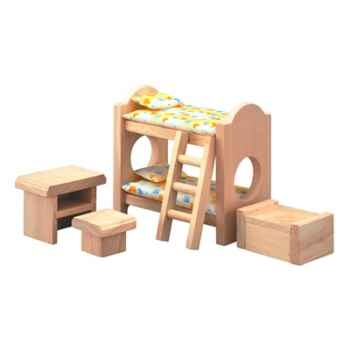 Chambre d'enfants en bois - Plan Toys 9502