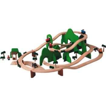 Circuit aventure en bois - Plan Toys 6217
