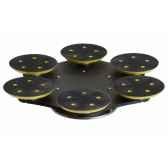multidisque pour flexisand 6 disques 125 mm bona aso312520