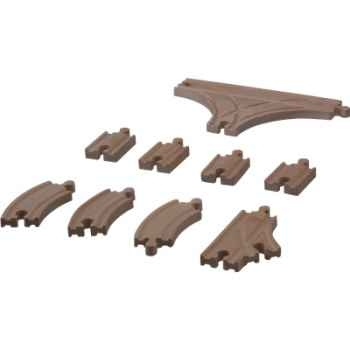Croisement pour circuit rail en bois - Plan Toys 6223
