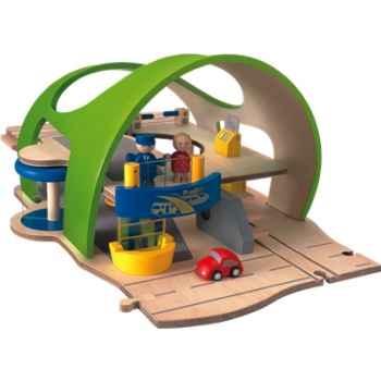 Gare centrale en bois - Plan Toys 6031