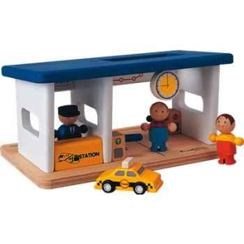 Gare en bois - Plan Toys 6092
