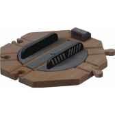 plaque aiguillage rotatif en bois plan toys 6212