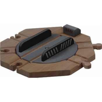 Plaque aiguillage rotatif en bois - Plan Toys 6212
