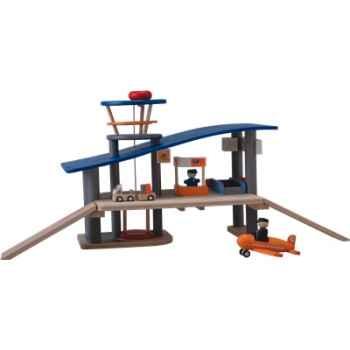 Aéroport en bois - Plan Toys 6226
