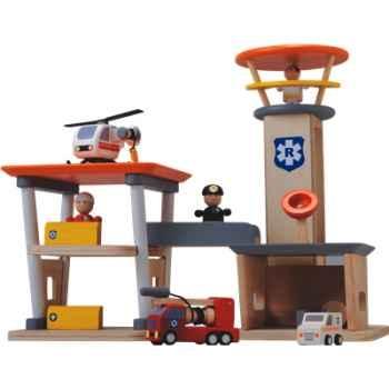Centre de secours en bois - Plan Toys 6219