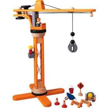 Coffret de construction en bois - Plan Toys 6086