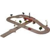 coffret routier luxe en bois plan toys 6078