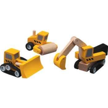 Construction des routes en bois - Plan Toys 6014