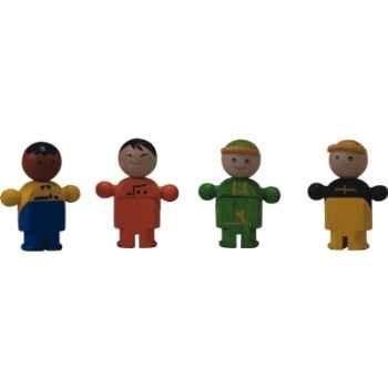 Les corps de métiers en bois - Plan Toys 6040