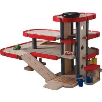 Parking garage en bois - Plan Toys 6227
