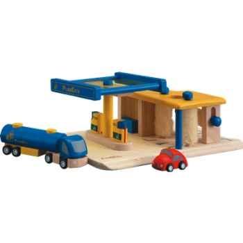 Station service en bois - Plan Toys 6013