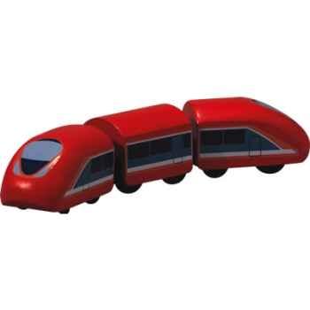Train a grande vitesse en bois - Plan Toys 6221