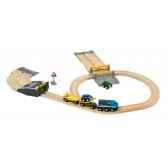 circuit ferroviaire transport de voitures brio 33212