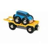 wagon transport de voiture avec rampe brio 33577
