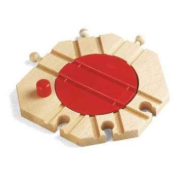 Plaque tournante mécanique en bois -33361000