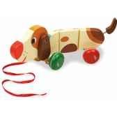 basile le chien saucisse a soufflet melusine vilac 4606