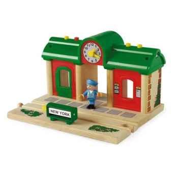 Gare en bois interactive - Brio 33668000