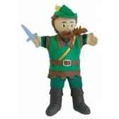 marionnette a main robin des bois au sycomore ma35010