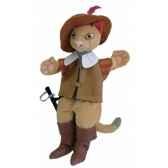 marionnette a main chat botte au sycomore ma35016