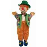 marionnette a main clown au sycomore ma35018