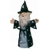 marionnette a main magicien au sycomore ma35022