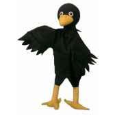 marionnette a main corbeau au sycomore ma35034