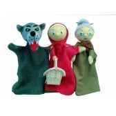 coffret marionnette trio chaperon rouge au sycomore mast301