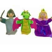 coffret marionnette trio princesse au sycomore mast303
