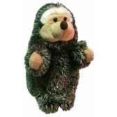 marionnette peluche herisson 23 cm au sycomore pel02917