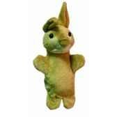 marionnette peluche lapin 23 cm au sycomore pel02921