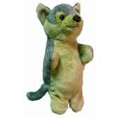marionnette peluche loup 23 cm au sycomore pel09010
