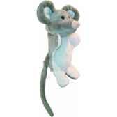 marionnette peluche souris 23cm au sycomore pel60060