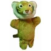 marionnette peluche tigre 23 cm au sycomore pel60291