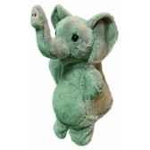 marionnette peluche elephant 23 cm au sycomore pel60296
