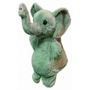 Marionnette peluche elephant 23 cm Au Sycomore -PEL60296