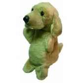 marionnette peluche golden retriver 23 cm au sycomore pel70556