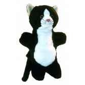 marionnette peluche chat 23 cm au sycomore pel70581