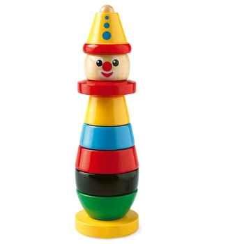 Clown à empiler en bois - Brio 30120000