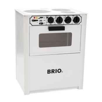 Cuisinière blanche en bois - Brio 31357000