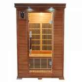 sauna infra rouge luxe 2 places poolstar sn luxe 2